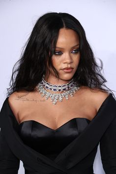 Rihanna attends the Annual Diamond Ball hosted by Rihanna and The Clara Lionel Foundation on September 2017 in New York City Looks Rihanna, Best Of Rihanna, Rihanna Love, Rihanna Riri, Rihanna Style, Rihanna Baby, Rihanna Makeup, Rihanna Fashion, Saint Michael