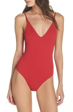 Love this basic one piece swimsuit.