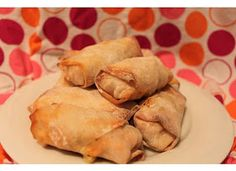 My Happily Ever After: *Healthy* Buffalo Chicken Roll Recipe