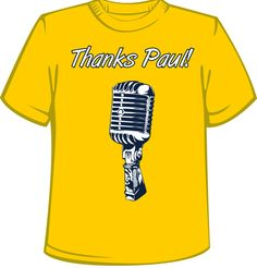 Thanks Paul! $20 buy your shirts today at www.Riverfrontstation.com @Riverfront Station Nashville Predators