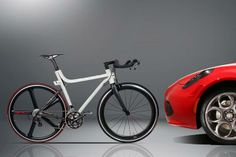 ALFA ROMEO PAIRED WITH COMPAGNIA DUCALE- IFA 4C BICYCLE