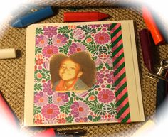 God Bless the Child, handmade greeting card, Copyright © Muffin ink