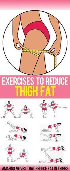 Workout Exercises: Inner-thigh fat can be hard to target and is often...