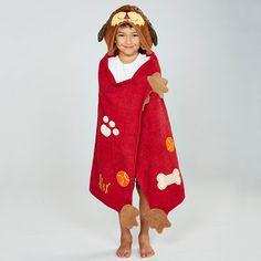 Dog Pound Kids Hooded Towels