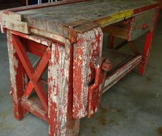 Red work bench project