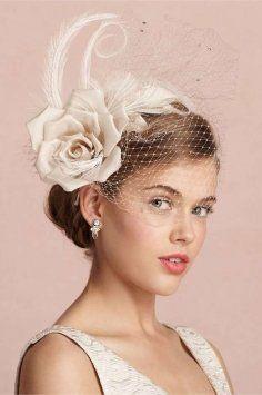 BHLDN Bhldn Caprice Birdcage Headband $62
