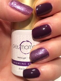 jenns.gelmoment.com GelMoment by Jennifer Jasmine Cherry mixed with some Chandelier for some sparkle.