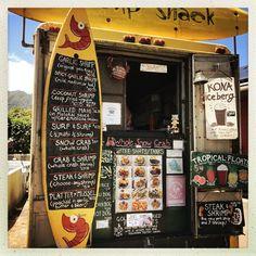 North shore - street food - Hawaii