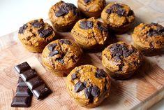Dýňové muffinky s čokoládou – Dewii