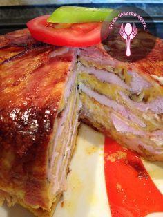Csirkemell torta | | Sylvia Gasztro Angyal French Toast, Bacon, Breakfast, Recipes, Food, Chicken, Meal, Eten, Recipies