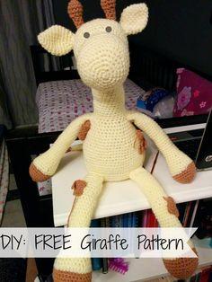 ShehlaGrr: FREE Crochet Giraffe Pattern