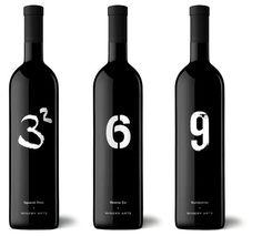 """Winery art: Ribera del Queiles, España.   El Número 9 es considerado por diversas culturas como la cifra del saber supremo.     Representa el triángulo ternario (corporal, intelectual y espiritual).     Cada uno de los vinos de la colección Winery Arts posee un simbolismo particular que, en conjunto con el resto, define la suma del concepto """"Numbernine""""."""