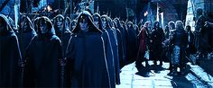 Haldir and Legolas