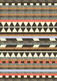 Aztec print quilt inspiration