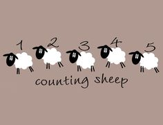 Counting Sheep by WildEyesSigns on Etsy
