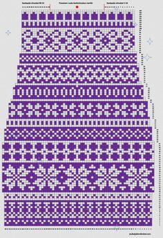 Knitting Machine Patterns, Knitting Charts, Knitting Stitches, Knitting Socks, Baby Knitting, Cross Stitch Borders, Cross Stitch Art, Cross Stitch Designs, Crochet Socks