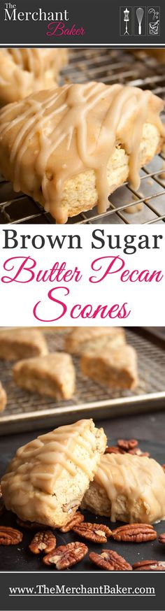 Brown Sugar Butter Pecan Scones