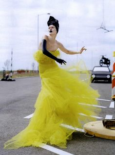 """High-Style"": Malgosia Bela by Tim Walker for Vogue Italia"