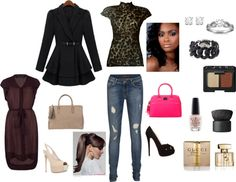 """."" by blk-barbie on Polyvore"