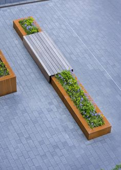 Buro Lubbers Mathildeplein Planter And Bench In One