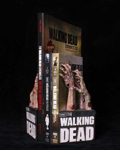 The Walking Dead Logo Bookends