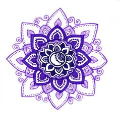 Purple mandala by yael360 on deviantART