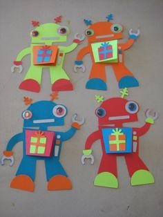 Makin' Mud Pies: Robot Birthday Party