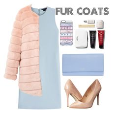"""#croppedfauxfur"" by annasviata ❤ liked on Polyvore featuring Theory, Smythson, Casetify, Madden Girl, women's clothing, women, female, woman, misses and juniors"
