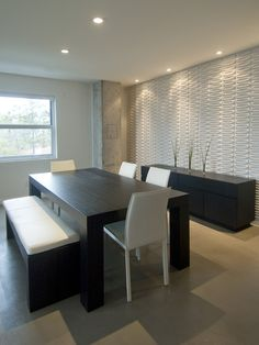 Dining Room Flat Roof Design, Pictures, Remodel, Decor and Ideas - page 3