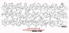 Sketch Love Style of Graffiti Alphabet 550x264 picture
