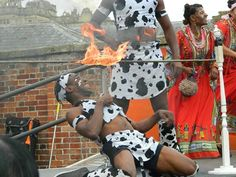 Kirsty Underwood captures this especially daring moment in one of our special summer parades.