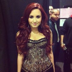 One of the most beautiful (inside AND out), courageous, and talented individuals I've ever come across in my life. I was fortunate to get to meet her in 2009. Yet another inspiration for me, not only in talent and style, but in spirit ❤ Love you Demi!! #Lovatic