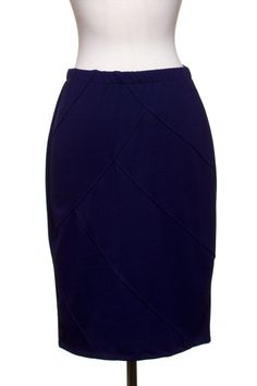 Dressing Your Truth   Type 4 Patriot Blue Pencil Skirt #type4 #dressingyourtruth #beautyprofiling