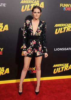 Kristen Stewart 2015 - American Ultra Macaquinho de paetes