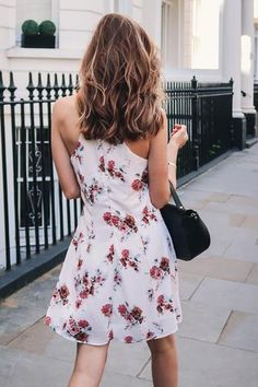 Flora Fit-and-Flare Dress