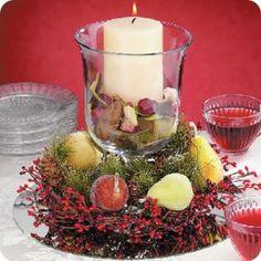 Decoracion de navidad para mesas
