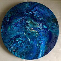 Result video 48 ( dry, no varnish yet) «blue planet»... #fluidsoul #fluidartwork #fluipainting #artlife #pouringpaint #painting #artprocess #artinprogress #blue #acrylicpouring #fluidart #fluidartgallery #intuitivepainting