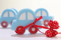 Μπομπονιέρα σαπουνάκι αυτοκινητάκι για γρήγορους οδηγούς!!! www.nikolas-ker.gr