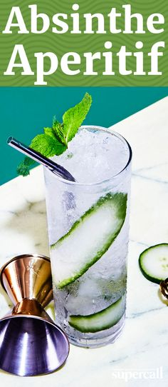 This fresh drink makes a perfect aperitif anytime of year, but it also works as a digestif after a big meal if you're craving a lighter post-dinner cocktail.