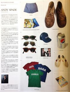 """breathnaigh: """" Andy Spade's summer standards in Them Magazine. Old Man Fashion, Preppy Mens Fashion, Vintage Fashion, Smart Casual, Casual Chic, Andy Spade, Ivy League Style, Ivy Style, Desert Boots"""