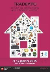#Salon Tradexpo à Paris du 9 au 12 janvier 2015. Tradexpo est le salon des professionnels de l'univers de la maison et de la famille  http://www.batilogis.fr/agenda/salon-france-2014-1.html