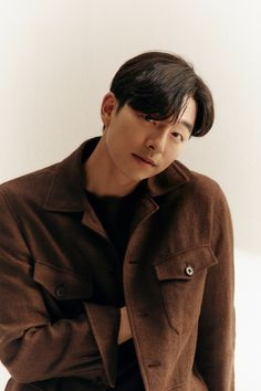 Korean Male Actors, Korean Men, Gong Yoo, Coffee Prince, Bo Gum, News Media, Interview, Raincoat, Winter Hats
