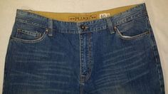 Mens PLUGG size 40X32 Blue Jeans pants #Plugg #jeans