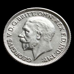1929 George V Silver Sixpence G/EF