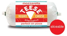 free recip, vegan mozzarella, tees vegan, recip romp, mozzarella chees