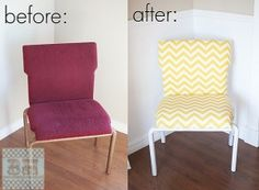 DIY chair makeover at blooming homestead