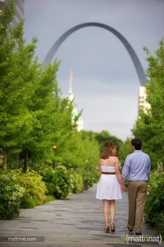 st. louis arch engagement photos - Google Search