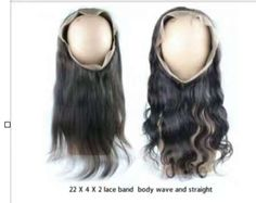 360 Lace Frontal With 2 hairstyle,straight and body wave