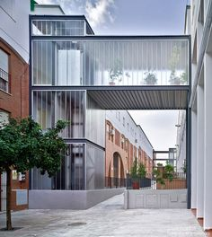Interventions in Common Areas of Public Multi-Family Housing Buildings / Studio Af6
