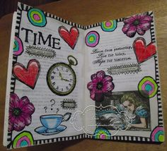 kickstart your art - altered book pages